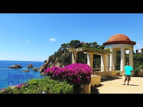 Botanical Gardens and Beaches of Blanes 2017 Costa Brava, Catalonia, Spain