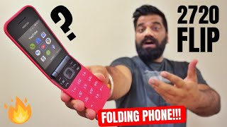 The Best Folding Phone - Nokia 2720 Flip Unboxing & First Look | 4G, Dual Display & More...