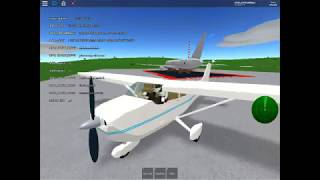 Roblox flight simulator: doing TOUCH AND GOES in a CESSNA 172 SKYHAWK??!!
