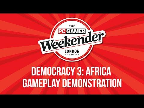 Democracy 3: Africa - Gameplay Demonstration - PC Gaming Weekender