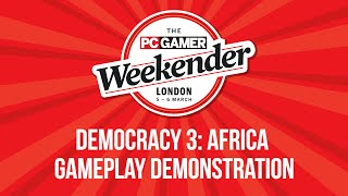 Democracy 3: Africa - Gameplay Demonstration - PC Gaming Weekender