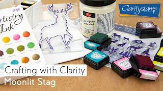 Stamping How To - Moonlit Stag
