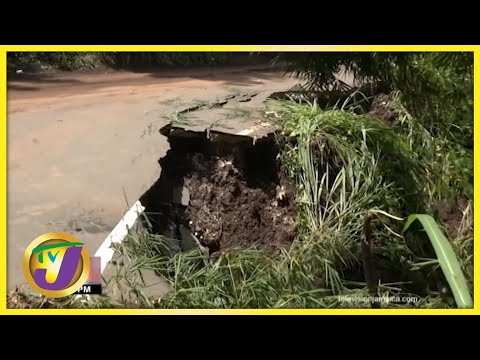 Tropical Storm Grace, the Aftermath in Savage Pen Gordon Town | TVJ News