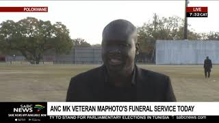 UPDATE: ANC MK veteran Isaac Maphoto's special official funeral in Polokwane