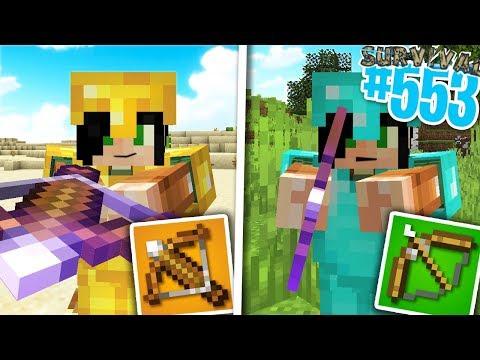 BALESTRA PIÙ FORTE Vs ARCO PIÙ FORTE - Minecraft ITA - Survival 1.14 #553