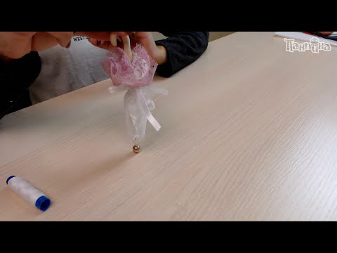 Кукла своими руками. Делаем зонтик для куклы. смотреть онлайн