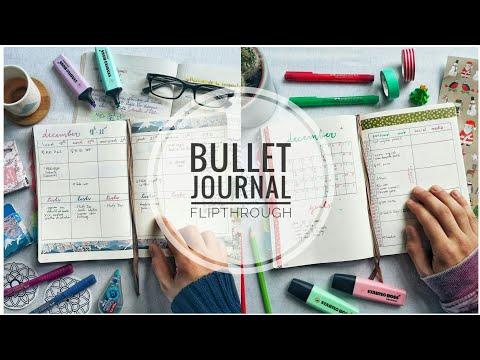 Bullet Journal Flipthrough | The Boosted Journal