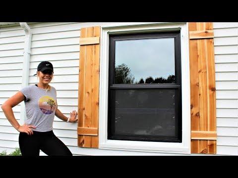 The 30 Minute Cedar Shutters - Easy DIY Project