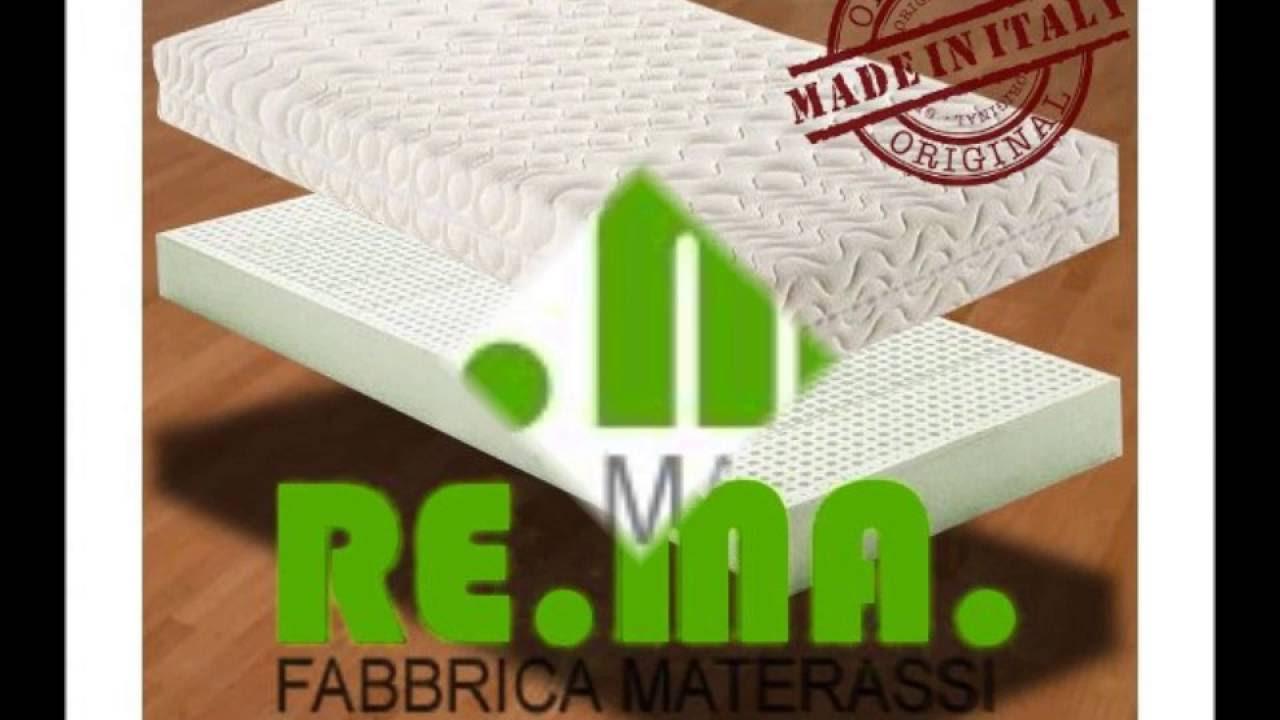 Offerta Materasso Matrimoniale in Lattice 100% - RE.MA ...