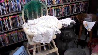 Vintage baby items in our local Vintage Flea Market