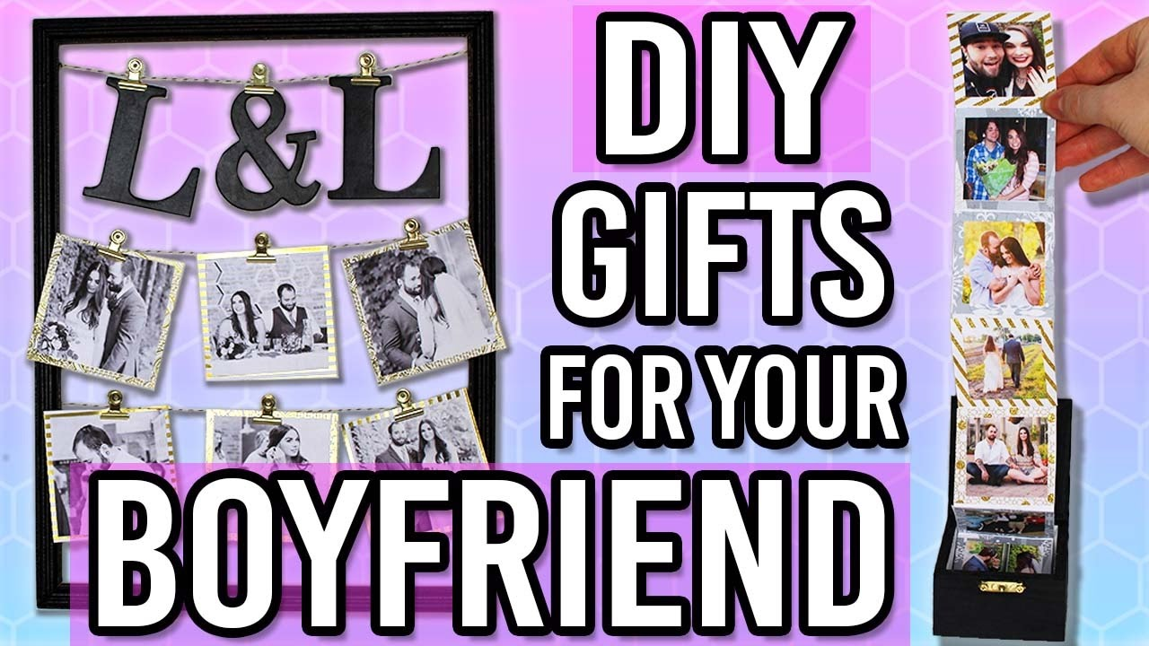 DIY GIFT IDEAS FOR YOUR BOYFRIEND/ HUSBAND! Thoughtful DIY Gifts for ...