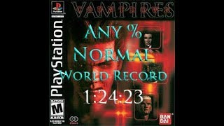 Countdown Vampires (World Record) Any% Normal Speedrun 1:24:23
