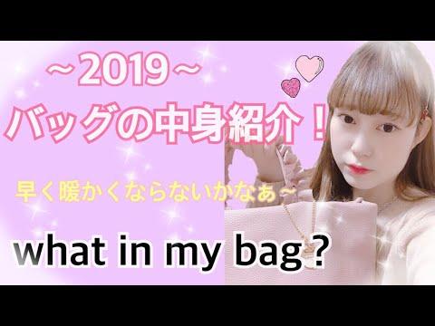 バッグの中身紹介~What in my bag~2019