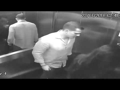 Asansörde kadına şiddet! Bu görüntülerden sonra kadını öldürdüğü iddia ediliyor!