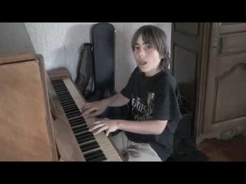 Martha My Dear by 10 year old boy on the piano