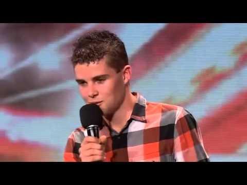 X Factor Joseph Anteater Joe McElderry X...