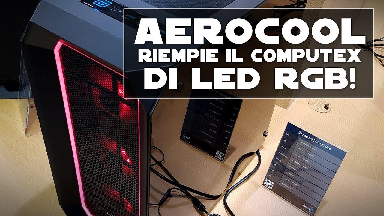 Controller per illuminazione led rgb by aerocool youtube
