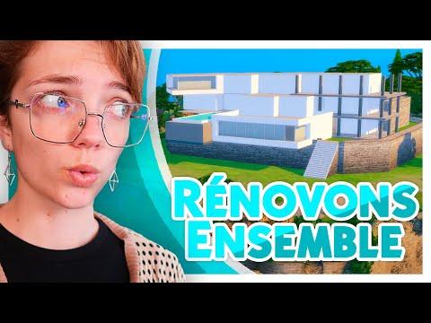 Là, c'est vraiment galère. #2 Rénovons la Villa à 2 Millions ! | Les Sims 4 🛠️