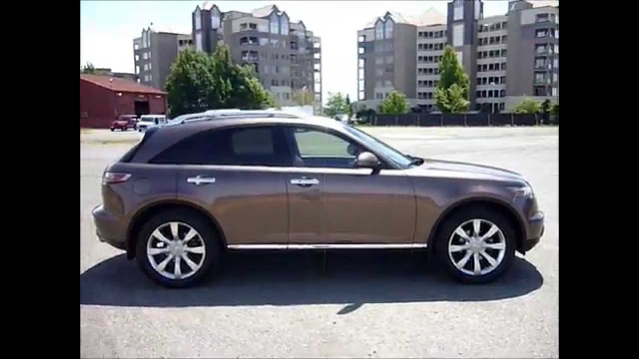 2006 infiniti fx35 leather loaded 126kms 14995