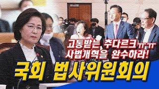 (생중계) 국회 법사위원회의 공수처법 개정안 상정