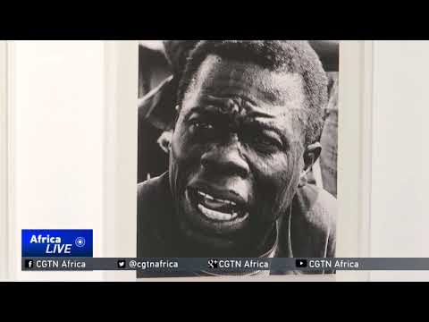 Acclaimed artist focuses his art on Angola's turbulent history