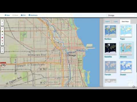 MapMaker Interactive Tutorial 1: Basemaps