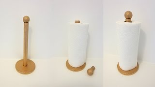 DIY : How To Make Paper Towel Holder Using Recycled Cardboard