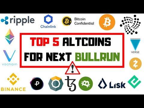 TOP 5 ALTCOINS   Der Nächste Bullrun Kann Kommen!