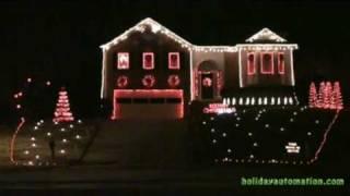 Christmas Lights 2008 - Carol of the Bells
