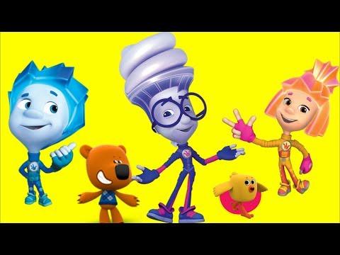 Фиксики - Новые серии - Шоколад Подводная Лодка Витамины| Мультики для детей Ми-ми-мишки Мультфильмы