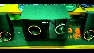 Intex IT-212 SUFB Bluetooth Home Audio Speaker Unboxing