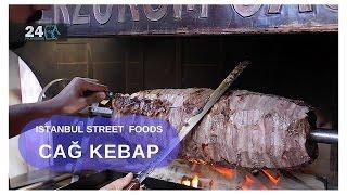 Istanbul Street Foods |Cag Kebap