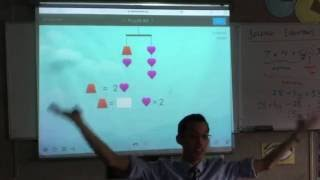 Solving Equations with Logic (2 of 2: Using SolveMe Mobiles to simulate an alegbraic equation)