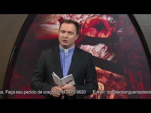 Terço Mãos Ensanguentadas de Jesus - 19/04/2016