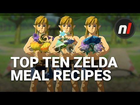 Top Ten Best Meal Recipes in The Legend of Zelda: Breath of the Wild