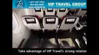 Air Canada Dreamliner 787 virtual tour