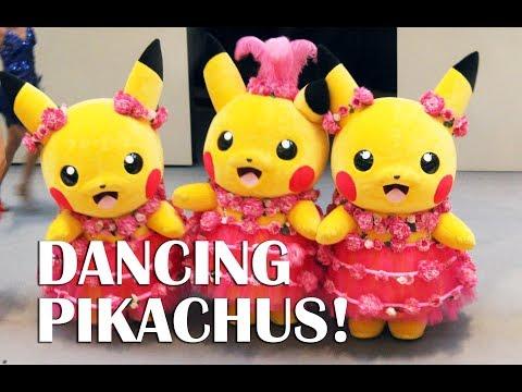 Dancing Pikachus! - Pikachu Outbreak 2017