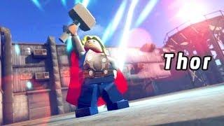 Video LEGO Marvel Super Heroes #07: Poderoso Thor / Ponte para Asgard / Destruidor - HD gameplay download MP3, 3GP, MP4, WEBM, AVI, FLV Oktober 2018
