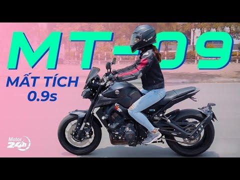 Yamaha MT-09 Mất TÍCH trong 0.9s - Tin được không??? | Motor24h