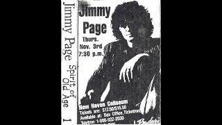 Jimmy Page - New Haven 1988