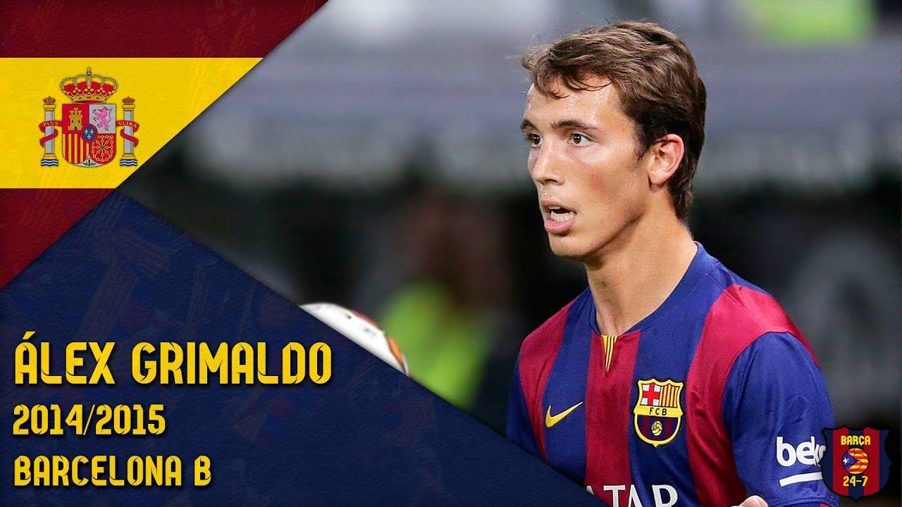 Download Álex Grimaldo 2014/2015 ● Barcelona B
