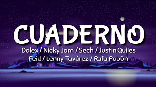Dalex - Cuaderno (LETRA) ft Nicky Jam, Sech, Justin Quiles, ...