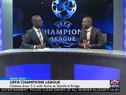 UEFA Champions League - Sports Desk on Joy News (19-10-17)