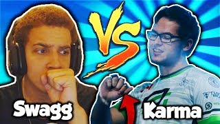 OPTIC KARMA vs SWAGG! 1v1 AGAINST The GREATEST COD PLAYER OF ALL TIME!