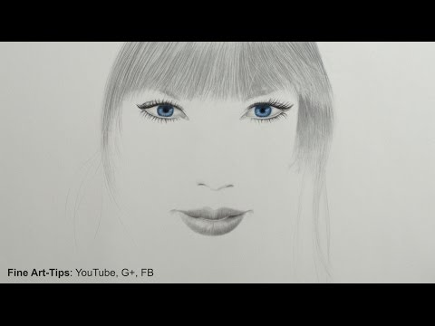 How to Draw a Minimalistic Portrait of Taylor Swift