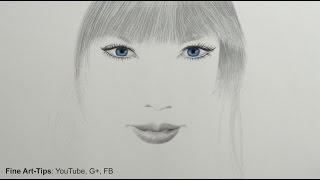 How to Draw a Minimalistic Portrait of Taylor Swift