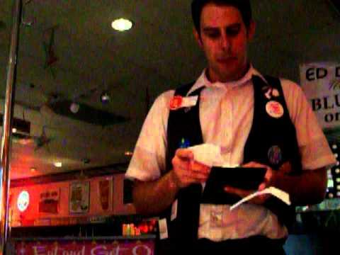 Rude waiter at Ed Debevic's!