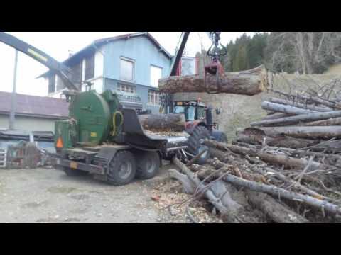 Bois déchiqueté - Spicher Le Hacker dans le Jura - MF 8737