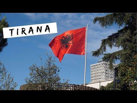 VLOG - TIRANA, balada na rua, comida gostosa | ALBÂNIA