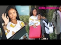 Karrueche Tran Has Lunch With Family After Filing A Restraining Order Against Chris Brown 2.18.17